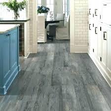 Grey Vinyl Plank Flooring In Bathroom Light Oak Cushioned
