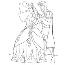 Princess And The Frog Coloring Pages Charlotte La Bouff