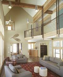 10 High Ceiling Living Room Design Ideas View Larger