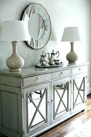 Elegant Dining Room Buffet Sideboards Mirrored Extraordinary