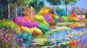 Beautiful Nature Oil Paintings