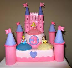 The Sweet Life Disney Princess 3rd Birthday Cake