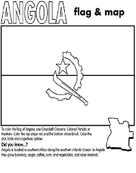 Different Country Flags Coloring Pages