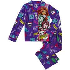 100 Monster Truck Pajamas High Girls Coat Pajama Set Walmartcom