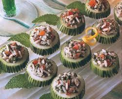 cucumber canapes cucumber canapes saladmaster recipes