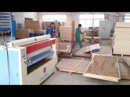 woodworking machine press machine gluing spread machine for