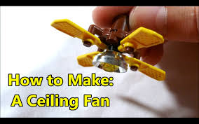 How To Make A Lego Scale Ceiling Fan