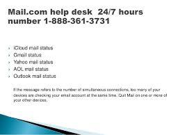 mail com help desk assistance helpline phone number