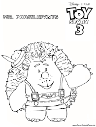 Coloriage A Imprimer Toy Story 3 Mr Pricklepants Gratuit Et Colorier