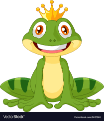 100 King Of The Frogs Happy Cartoon King Frog
