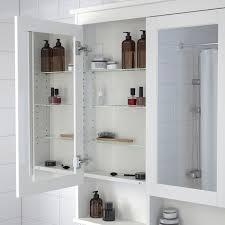 hemnes spiegelschrank 2 türen weiß 83x16x98 cm ikea