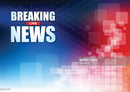 Live Breaking News Headline In Blue And Red Color Pixels Background Vector Art