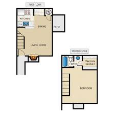 1 Bed 1 Bath Townhouse