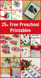 Printable Halloween Books For Preschoolers by 25 Free Preschool Printables Fun A Day