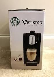 Starbucks Verismo 580 Brewer Black