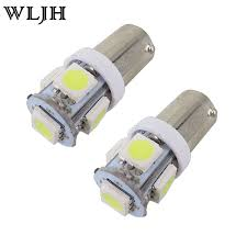 wljh 10x 4color ba9s t4w led light 5050smd bulb h6w 12v led