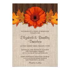 Rustic Fall Wedding Vow Renewal Anniversary Card