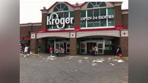 Kroger Christmas Tree Stand by Neighbors Say Their East Side Kroger Is Filled With Trash And