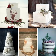 5 Wonderful Winter Wedding Cakes Chic Vintage Brides