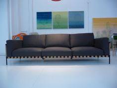 lc3 down le corbusier sofa cassina modern design within reach