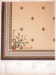 The Tile Shop Naperville Illinois by Early 1900s Mosaic Floor Tile Pattern From American Encaustic Tile