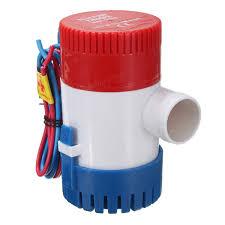 Oil Rain Lamp Pump by 1100gph 12v Submersible Marine Boat Electric Bilge Water Pump Low