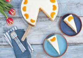 frischkäse torte mit mandarinen no bake