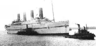 Brittanic Sinking by Ot 1912 Titanic 2012