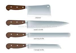 Kitchen Knives Names Food Kitchen Kitchen Kitchen Utensils Exles Of