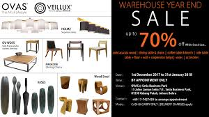 17 Dec 2017 Jan 2018 OVAS Warehouse Sale At Johor Bahru