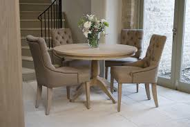 Neptune Henley Round Dining Table Room Furniture Faux Bamboo Rh Uaunison Org Chairs Only Charcoal Gray