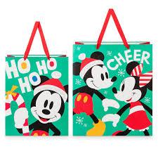Santa Mickey Mouse Bringing Holiday Cheer Snowglobe By Jim Shore