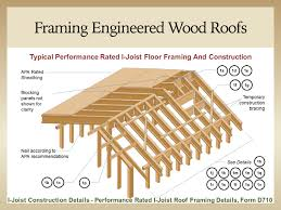 Module D I Joist Roof Framing And Construction Details