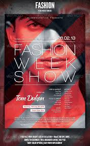 Fashion Poster Design Inspiration Geometric Shapes Over Photograph