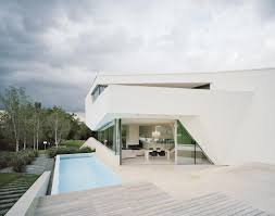 Home Designs: 13 White Interior - Futuristic Villa In Vienna ... Architecture Futuristic Home Design With Arabian Nuance Awesome Decorating Adorable Houses Bungalow Cool French Interior Magazines Online Bedroom Ipirations Designs 13 White Villa In Vienna Homey Idea Unique Small Homes Unusual Large Glass Wall 100 Concepts Fascating Living Room Chic Of Nice 1682 Best Around The World Images On Pinterest Stunning Japanese Photos Ideas Best House Pictures Bang 7237