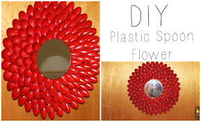 DIY Plastic Spoon Flower Wall Hanging Wreath Jessica Joaquin