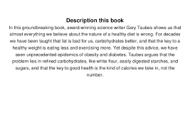 Read Good Calories Bad Calories Fats Carbs And The Controversial