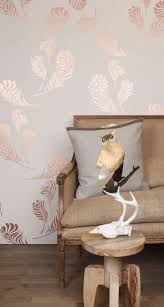 Rose Gold Bedroom Wallpaper Shock Trends 2016 19 Stunning Examples Of Metallic Home Design Ideas 1