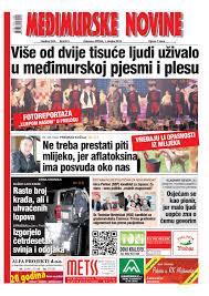 Međimurske novine 911 by mnovine issuu