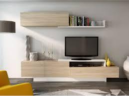 tv wand mit stauraum monty eichenholzfarben weiß