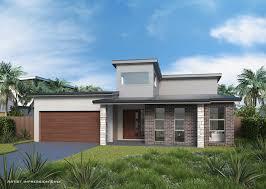 104 Skillian Roof Sedona Mki Tri Level Skillion Home Design Tullipan Homes