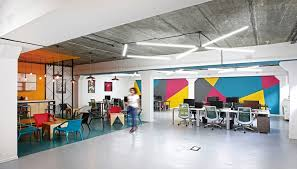 Colorful Modern Office Space Design