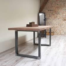 KitchenDiy Plumbing Pipe Table Zinc Top Dining Rustic Farmhouse Metal