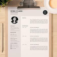 interior design resume template word modern resume template word