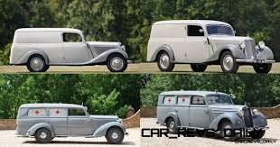 100 1952 Chevy Panel Truck MercedesBenz 170VA Wagon And 1954 170SV Ambulance