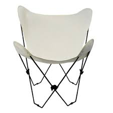 Butterfly Chair Replacement Covers Leather by Amazon Com Algoma 4053 00 Butterfly Chair Black Frame Natural