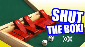 make a wood shut the box game youtube