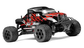 Mini MadBeast 1/18 Scale BlackRed Electric Monster Truck Ready To ...