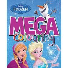 Disney Frozen Mega Colouring Book Amazoncouk Toys Games