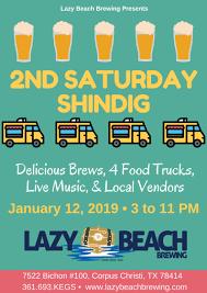 100 Shindigs Food Truck Lazy Beach Brewery Second Saturday Shindig